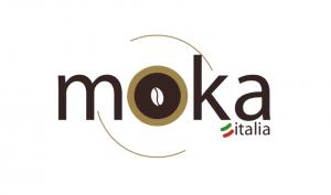 logo moka bianco